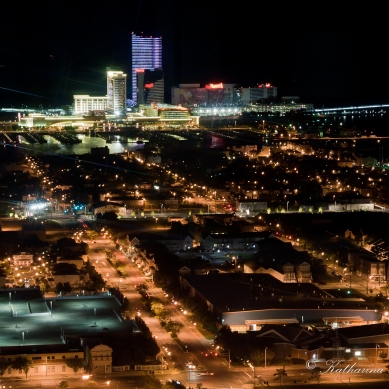Atlantic City bei Nacht © Katharina Sunk