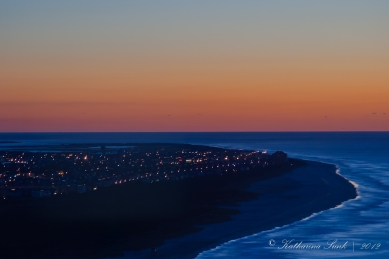 Sonnenaufgang Atlantic City © Katharina Sunk