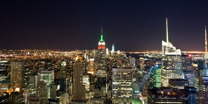 """Top of the Rock"" - Ausblick"