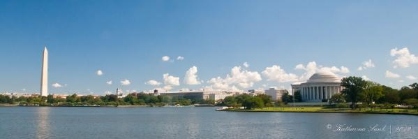 Washington Monument - Jefferson Memorial