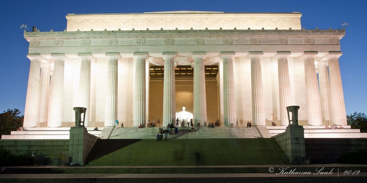 Lincoln Memorial bei Nacht