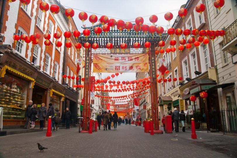 Chinatown London © Katharina Sunk