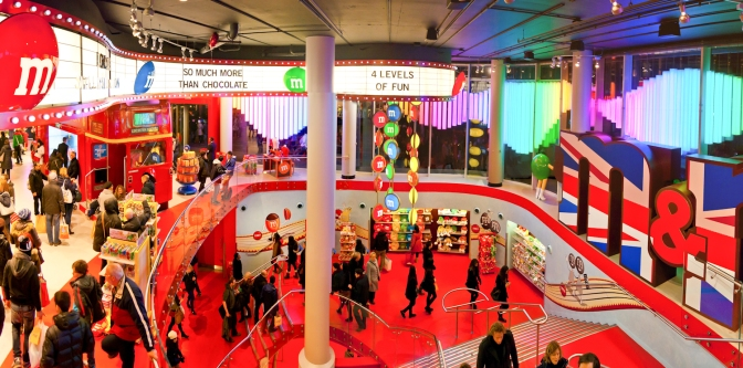 M&M's World London © Katharina Sunk