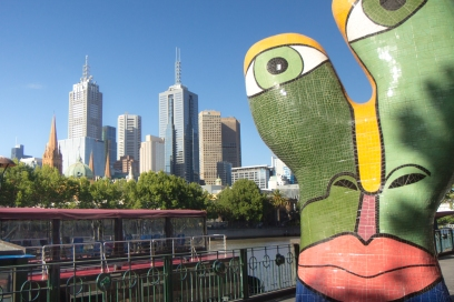 At the Yarra River