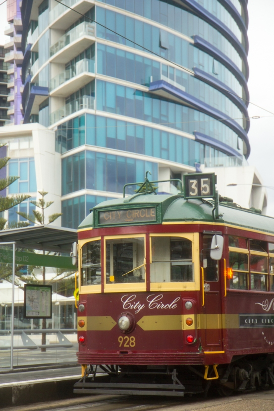 Melbourne Trams © Katharina Sunk