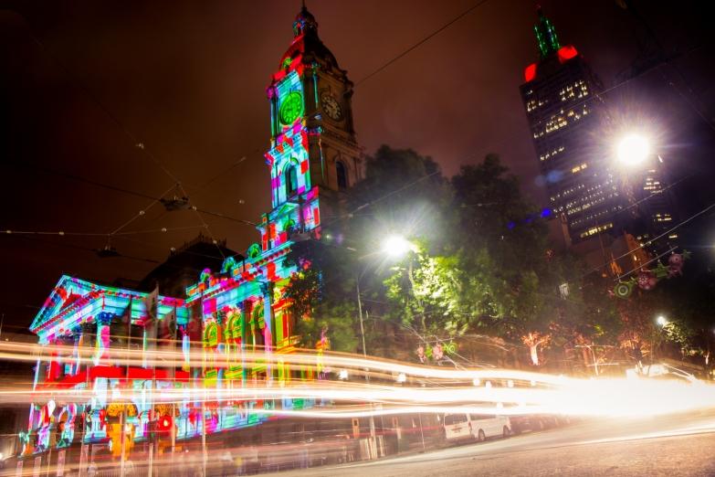 Town Hall at Night © Katharina Sunk