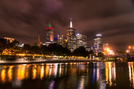 Yarra River at Night © Katharina Sunk