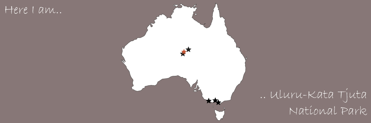 AustraliaMap - Uluru