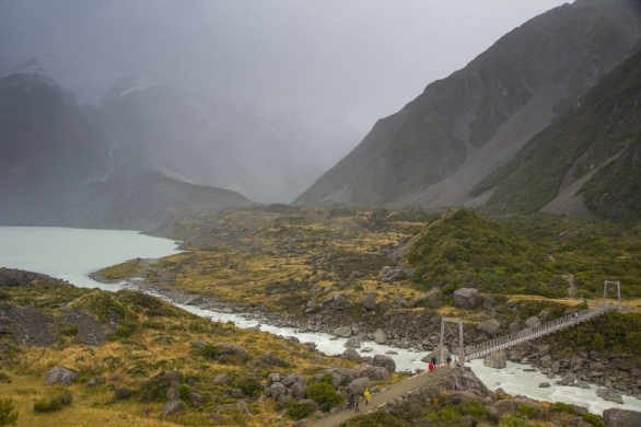 Mount Cook National Park © Katharina Sunk