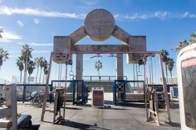 Muscle Beach © Katharina Sunk