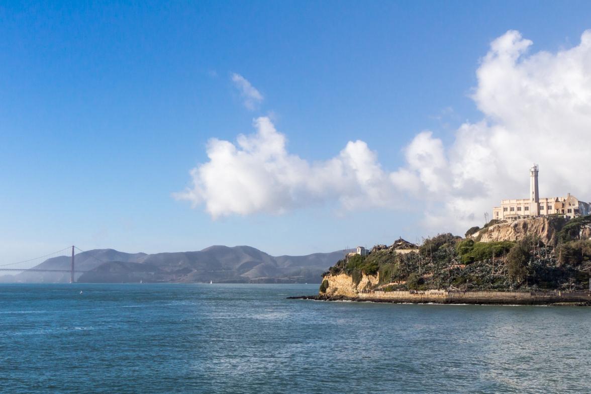 Alcatraz & Golden Gate Bridge © Katharina Sunk