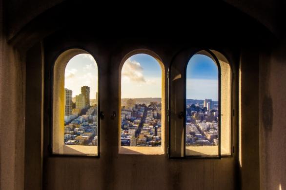Coit Tower View © Katharina Sunk
