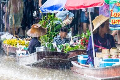 Damnoen Saduak Floating Market © Katharina Sunk