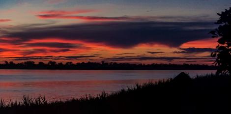 Sunset at the Amazon © Katharina Sunk