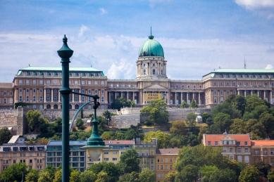 Budapest Buda Castle © Katharina Sunk