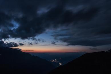 Sunset in the Alps © Katharina Sunk