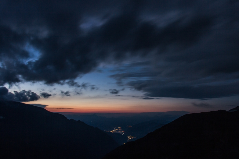Sunset in the Alps © Katharina Sunk