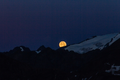 Full Moon in the Alps © Katharina Sunk