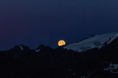 Full Moon in the Alps © Katharina Sunk