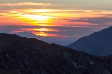 Sunrise in the Alps© Katharina Sunk