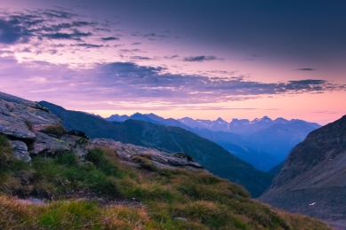 Sunrise in the Alps © Katharina Sunk