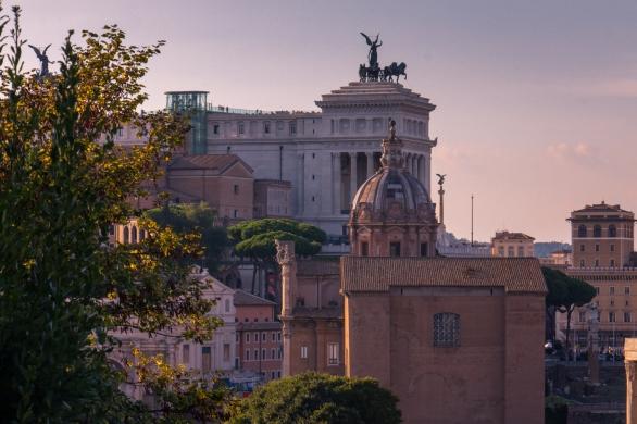 Roman Forum & Vittoriano © Katharina Sunk