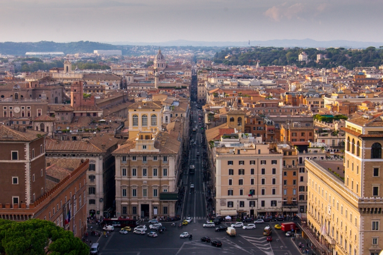 View from Vittoriano © Katharina Sunk