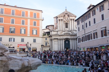 Trevi Fountain © Katharina Sunk