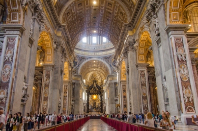 St. Peter's Basilica © Katharina Sunk