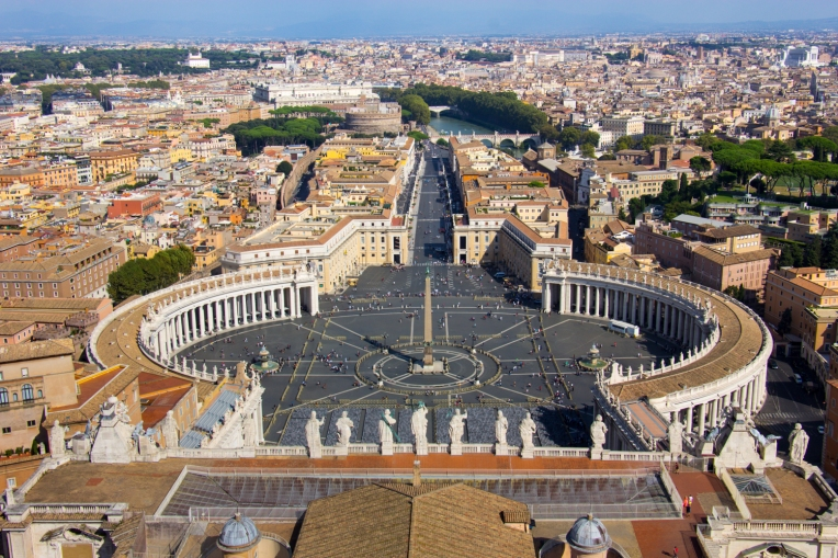 View from St. Peter's Basilica © Katharina Sunk