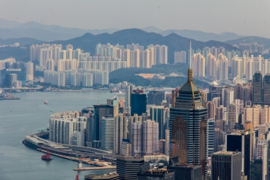 Victoria Peak Hong Kong © Katharina Sunk